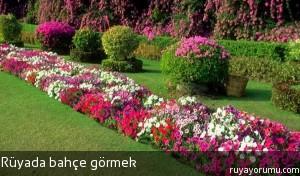 Rüyada Bahçe Görmek