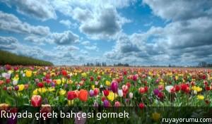 Rüyada Çiçek Bahçesi Görmek