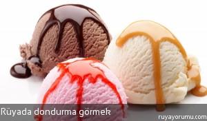 Rüyada Dondurma Görmek