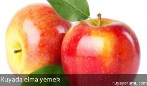 Rüyada Elma Yemek