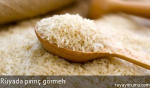 Rüyada Pirinç Görmek