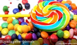 Rüyada Şeker Görmek