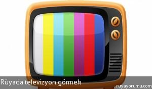 Rüyada Televizyon Görmek
